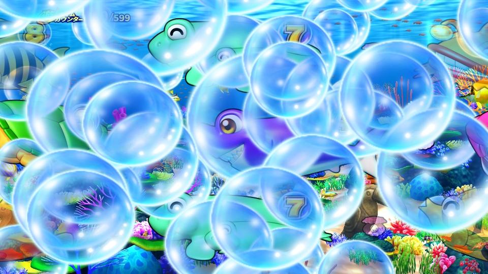 パチンコPギンギラパラダイス 夢幻カーニバルHCAの大泡予告画像