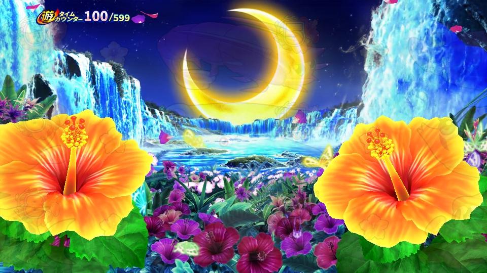 パチンコPギンギラパラダイス 夢幻カーニバルHCAの時間帯変化画像
