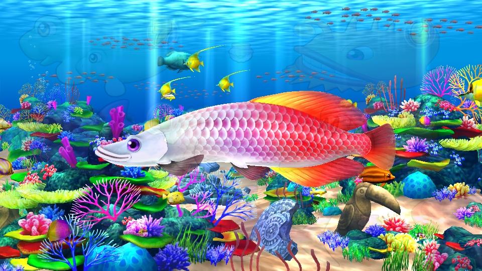 パチンコPギンギラパラダイス 夢幻カーニバルHTKのピラルク通過画像