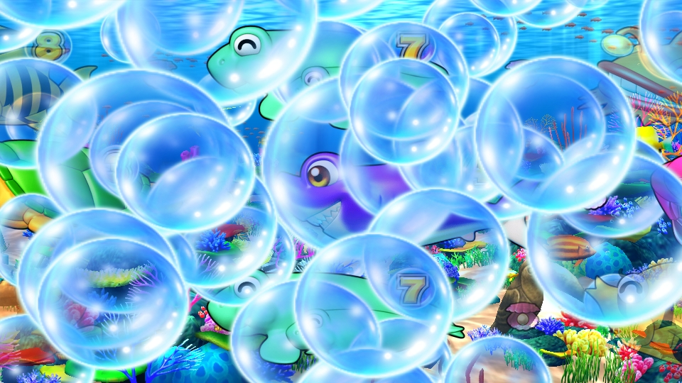 パチンコPギンギラパラダイス 夢幻カーニバルHTKの大泡予告画像