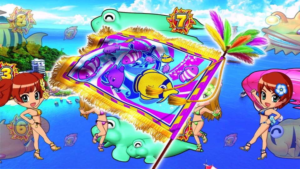 パチンコPギンギラパラダイス 夢幻カーニバルHTKのホイッスルフラッグ画像