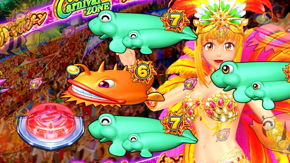 パチンコPギンギラパラダイス 夢幻カーニバルHCAのブラジルモード画像