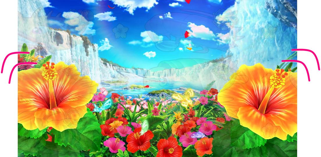 パチンコPギンギラパラダイス 夢幻カーニバルHTKの揺れ画像