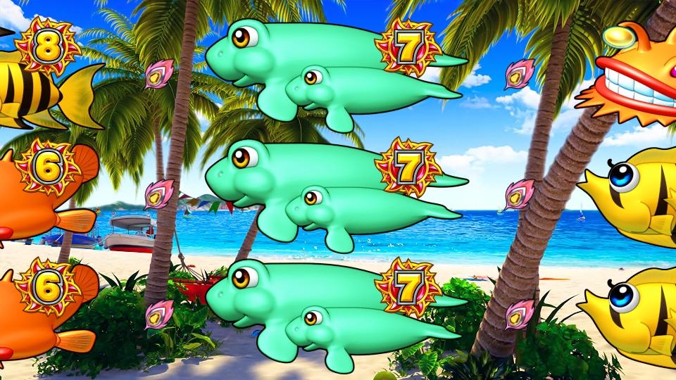 パチンコPギンギラパラダイス 夢幻カーニバルHTKの奇数図柄画像