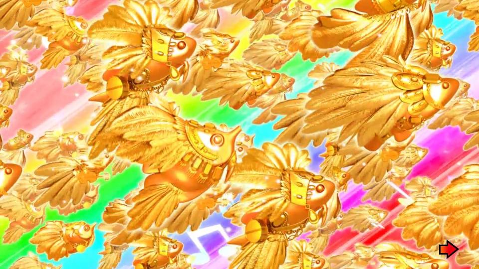パチンコPギンギラパラダイス 夢幻カーニバルHTKの金魚群画像