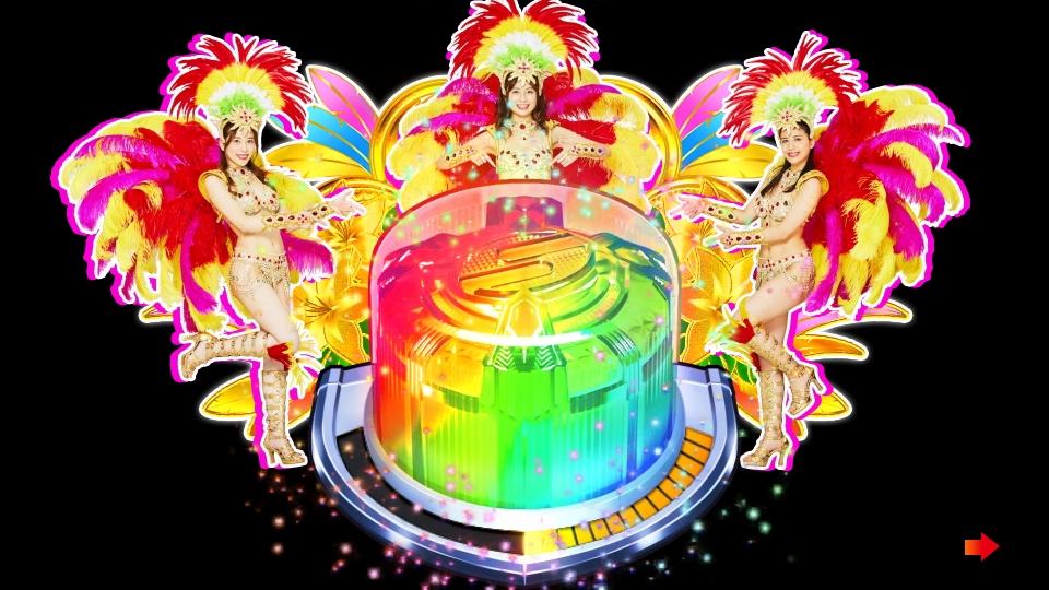 パチンコPギンギラパラダイス 夢幻カーニバルHTKのミスマリンボタン画像