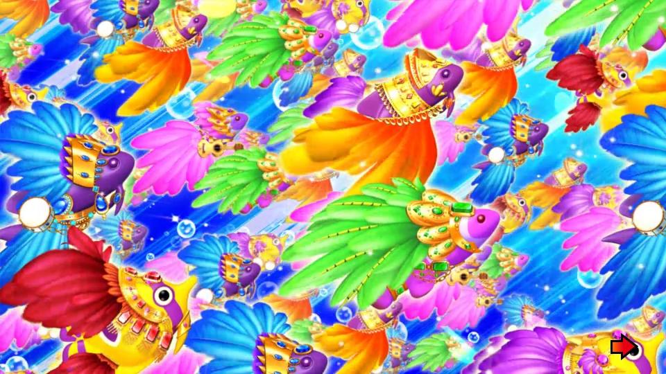 パチンコPギンギラパラダイス 夢幻カーニバルHTKの斜め画像