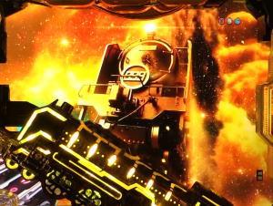 パチンコP銀河鉄道999 PREMIUMのストーリーリーチ発展時の画像