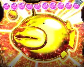 パチンコPガールズ&パンツァー 劇場版の金のアンコウ画像