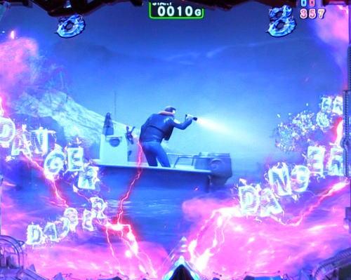 パチンコP JAWS3 LIGHTの霧の岩礁画像