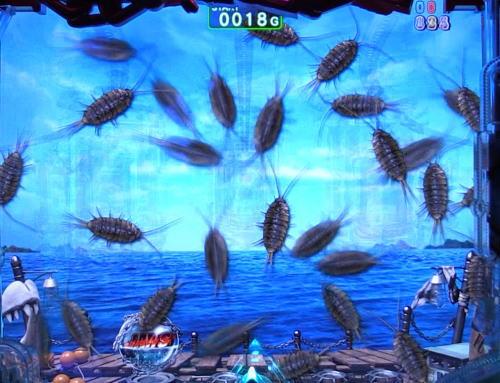 パチンコP JAWS3 SHARK PANIC~深淵~のフナムシ群画像