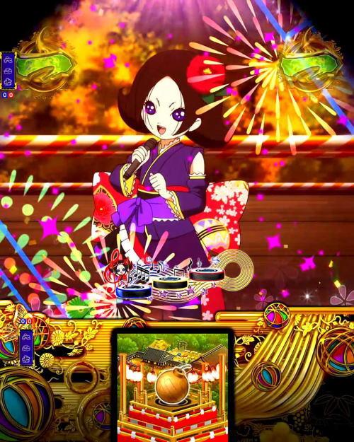 パチンコP地獄少女 きくりのお祭りLIVEのわっしょい!きくり祭り2の画像