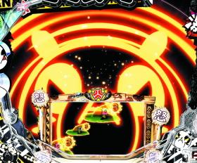 パチンコP安心ぱちんこキレパンダinリゾート 79Ver.のドクンリーチ画像