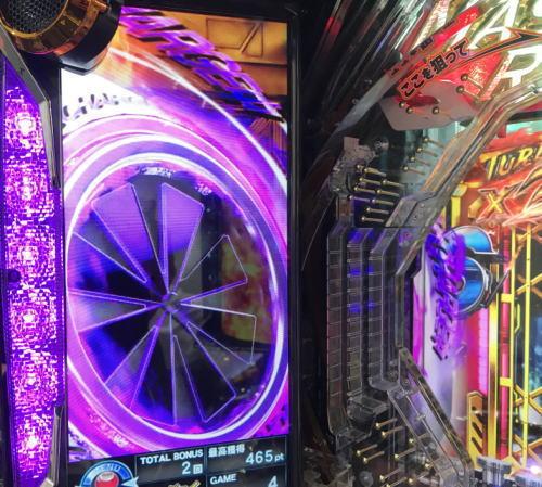 パチンコぱちんこ 仮面ライダー GO-ON LIGHTの風力チャージ予告1画像