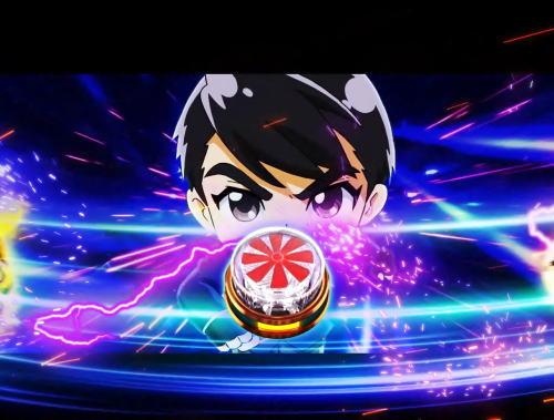パチンコぱちんこ 仮面ライダー GO-ON LIGHTのライダールーレット2画像