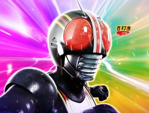 パチンコぱちんこ 仮面ライダー GO-ON LIGHTの仮面ライダーBLACK登場画像