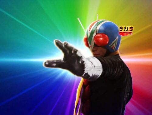 パチンコぱちんこ 仮面ライダー GO-ON LIGHTのライダーマン登場画像
