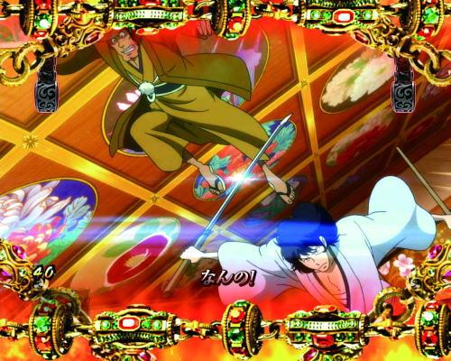 パチンコPルパン三世~復活のマモー~の歌舞伎ロック