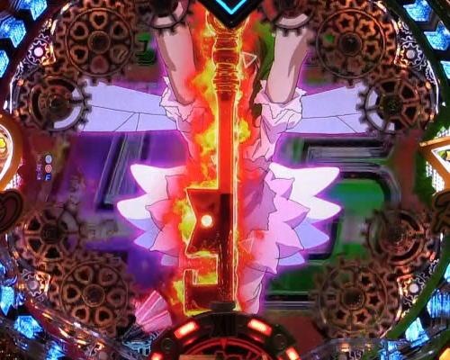 パチンコPフィーバーマクロスフロンティア4のランカアップ:超時空V-コントローラー発生の画像