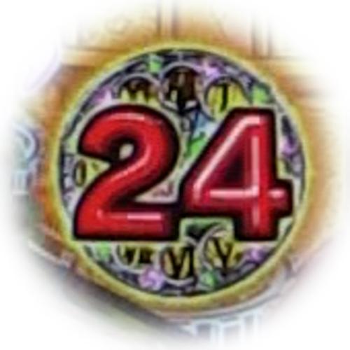 パチンコPフィーバーマクロスフロンティア4の24時アイコン保留の画像