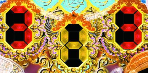 パチンコP女神ドリームの突サポ発動(3H3)
