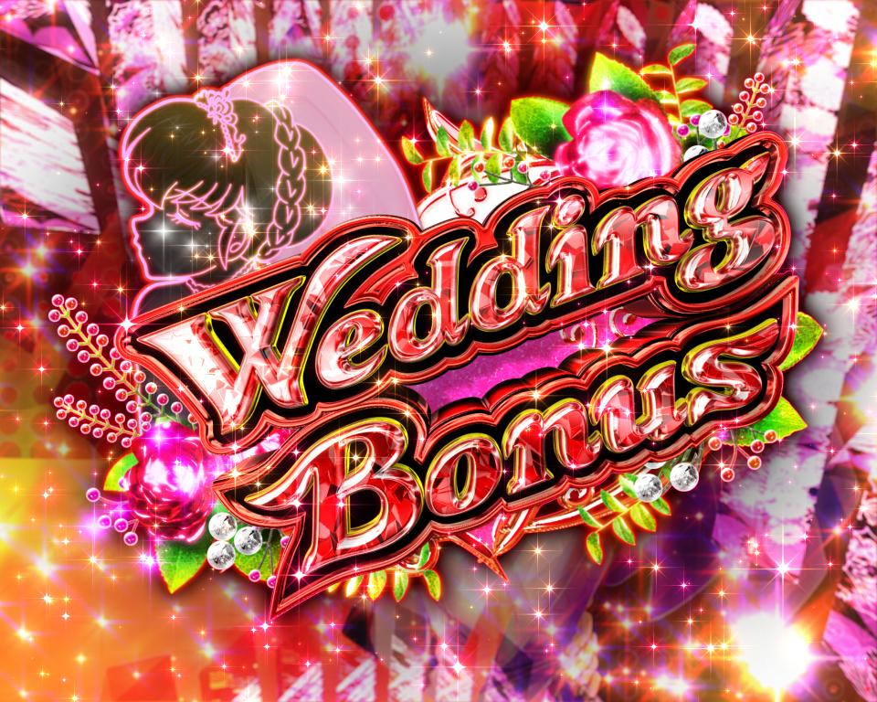 パチンコPめぞん一刻~Wedding Story~赤文字ボーナスの画像