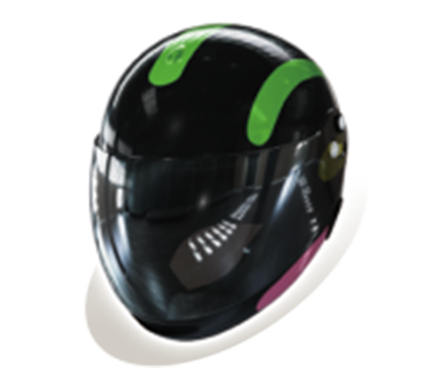 パチンコPモンキーターンVヘルメットの画像