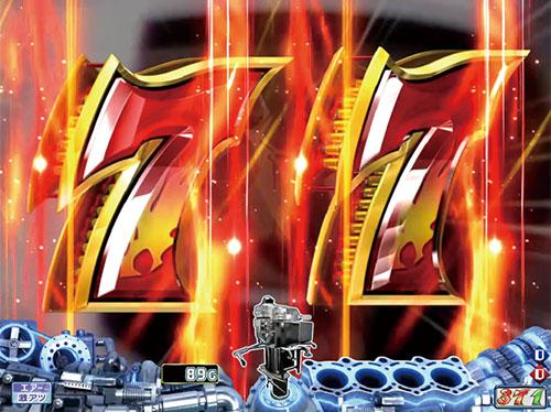 パチンコPモンキーターンV7図柄テンパイ煽りの画像