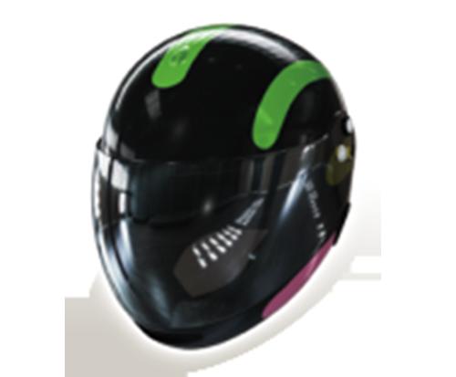 パチンコPモンキーターンV GC250Aヘルメットの画像