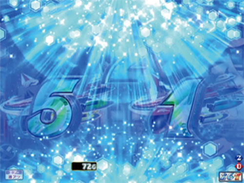 パチンコPモンキーターンV GC250A動開始プロペラギミック先読みの画像