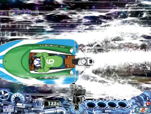 パチンコPモンキーターンV GC250A引き波ステップアップ予の画像