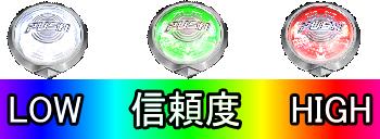 パチンコPモモキュンソードGC250Aのボタン信頼度画像