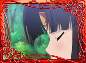 パチンコPモモキュンソードGC250Aのウインドウ赤色画像