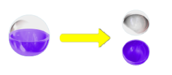 パチンコPモモキュンソードGC250Aのカプセル画像