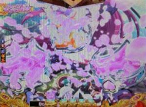 パチンコPモモキュンソードGC250Aの桃の花びら画像