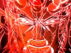 パチンコPモモキュンソードMCの邪鬼王出現画像