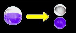 パチンコPモモキュンソードMCのカプセル画像