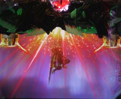 パチンコPモンスターハンター ダブルクロスのバルファルクリーチ:盤面ランプ発光