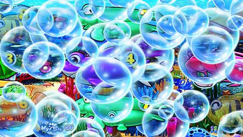 パチンコPA大海物語4スペシャルWithアグネス・ラムの大泡予告画像