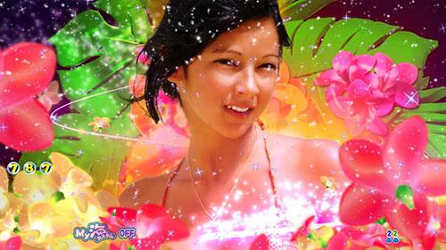 パチンコPA大海物語4スペシャルWithアグネス・ラムのアグネス・ラムカットイン画像