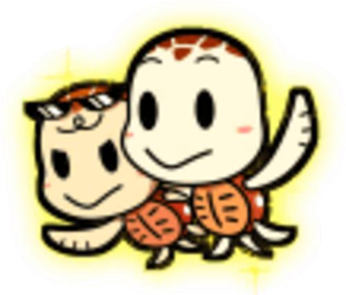パチンコPA SUPER電役ナナシーSPECIALの楽亀&幸亀