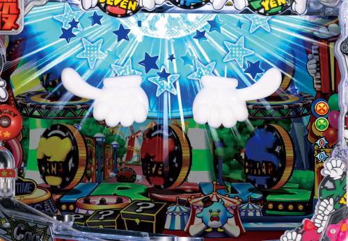 パチンコPA SUPER電役ナナシーSPECIALのロゴスパーク予告画像