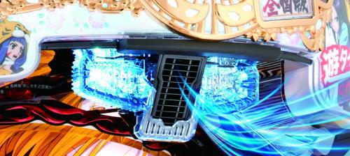 パチンコP織田信奈の野望 全国版の激熱エアーブースト発動の画像