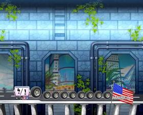 Pぱちんこ 乗物娘 WITH CYBERJAPAN(R)DANCERS M-K1のトンネル背景変化演出画像