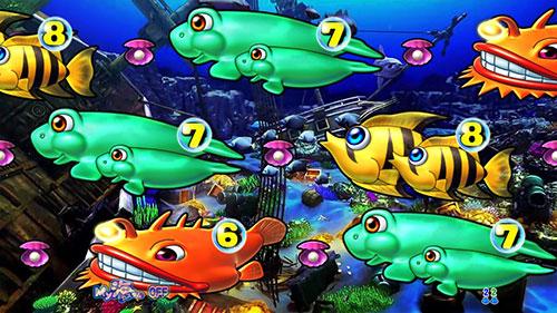 パチンコPA大海物語4スペシャルWithアグネス・ラムのトレジャーステージ画像