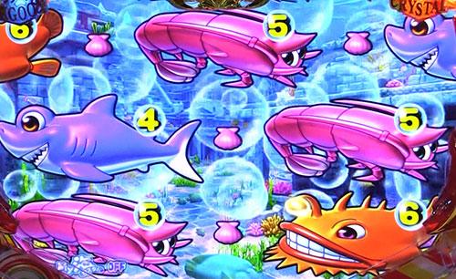 パチンコPA大海物語4スペシャルWithアグネス・ラムの前兆予告画像