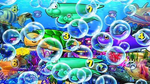 P大海物語4スペシャルBLACKの泡予告画像