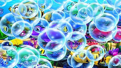 P大海物語4スペシャルBLACKの大泡画像