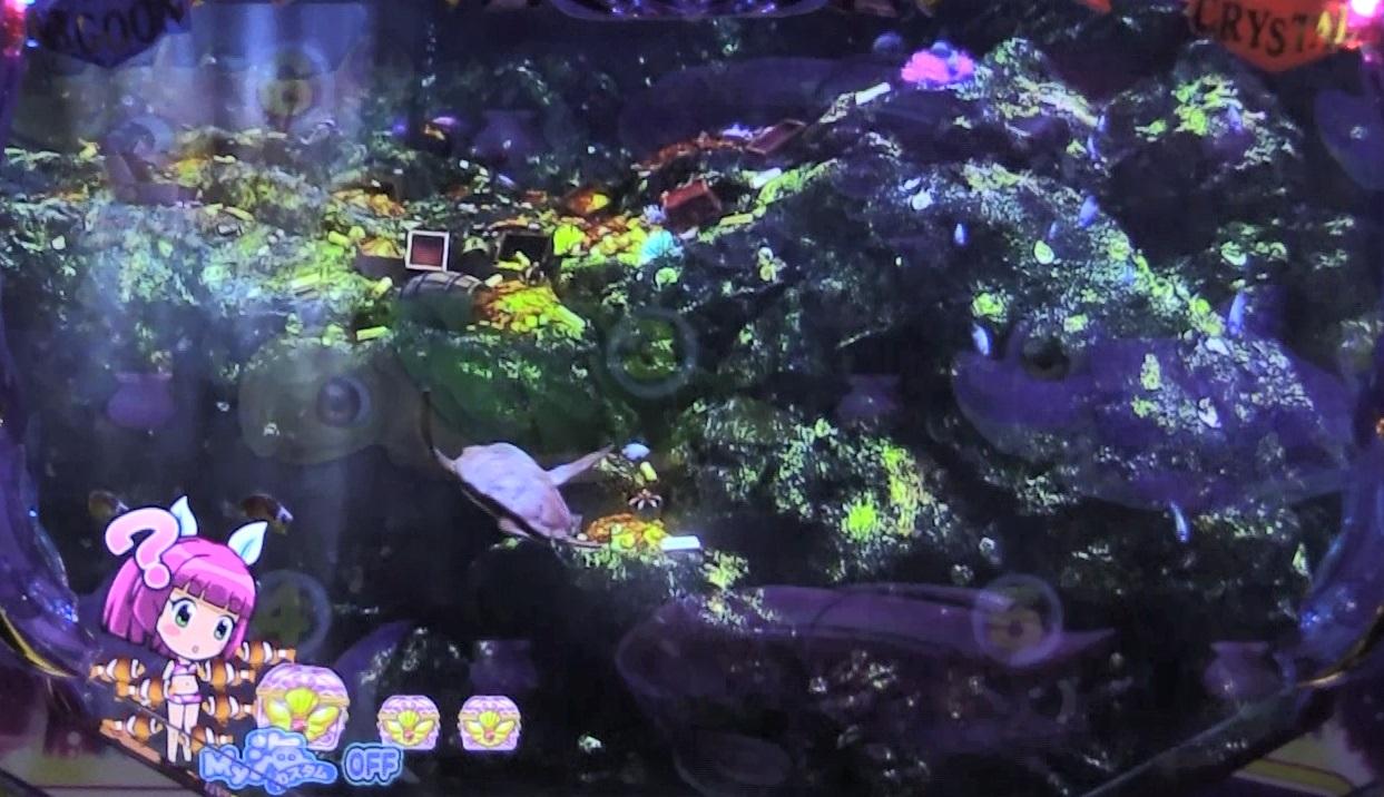 P大海物語4スペシャルBLACKのクマノミ画像