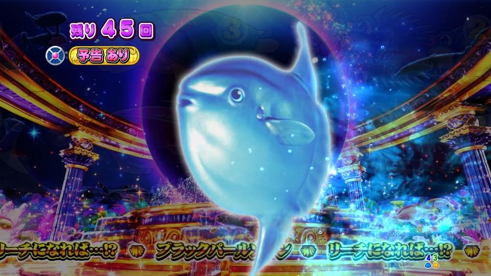 P大海物語4スペシャルBLACKのマンボウ画像